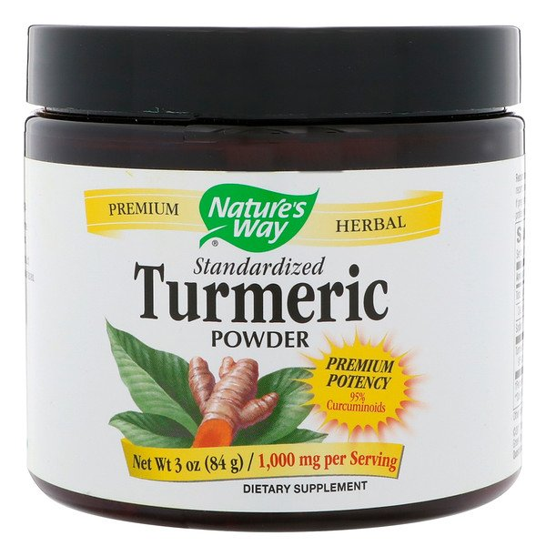 Nature's Way, Standardized Turmeric Powder, 1,000 mg, 3 oz (84 g)