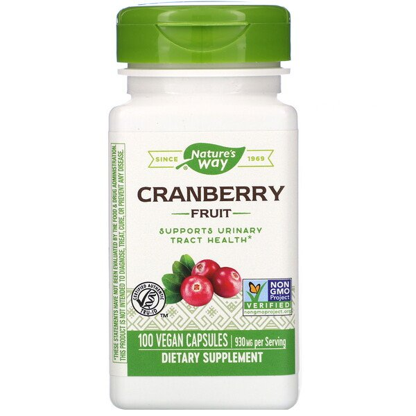 Cranberry Fruit, 930 mg, 100 Vegan Capsules