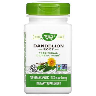 Nature's Way, Dandelion Root, 525 mg, 100 Vegan Capsules