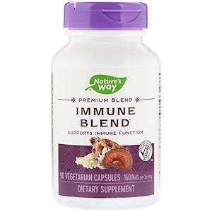 Натурес Вэй, Immune Blend, 1600 mg, 90 Vegetarian Capsules отзывы