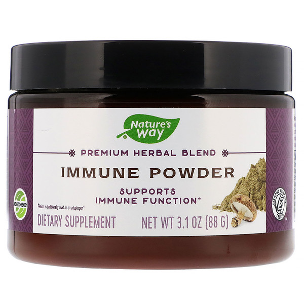 Nature's Way, Premium Herbal Blend, Immune Powder, 3.1 oz (88 g) (Discontinued Item)