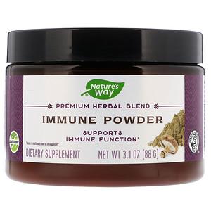 Натурес Вэй, Premium Herbal Blend, Immune Powder, 3.1 oz (88 g) отзывы