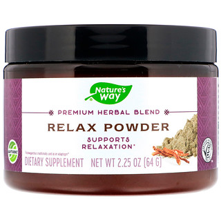 Nature's Way, Premium Herbal Blend, Relax Powder, 2.25 oz (64 g)