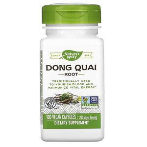Натурес Вэй, Dong Quai Root, 1,130 mg, 100 Vegan Capsules отзывы