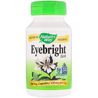 Eyebright Herb, 430 mg, 100 Veg. Capsules - фото