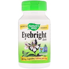Nature's Way, Eyebright Herb, 430 mg, 100 Veg. Capsules