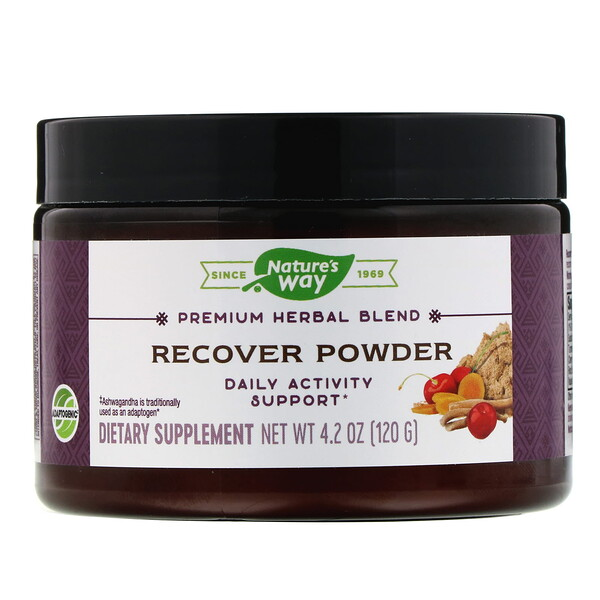 Nature's Way, Recover Powder, Daily Activity Support, 4.2 oz (120 g)