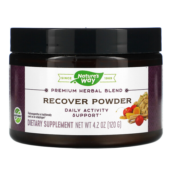 Recover Powder, Daily Activity Support, 4.2 oz (120 g)