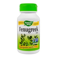 Nature's Way, Fenugreek Seed, 610 mg, 100 Veggie Caps