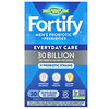 Nature's Way, Fortify,男士益生菌 + 益生元,日常護理,300 億,30 粒緩釋素食膠囊。膠囊