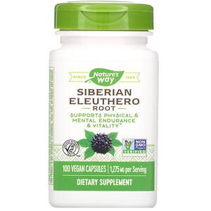 Натурес Вэй, Siberian Eleuthero Root, 1,275 mg, 100 Vegan Capsules отзывы покупателей