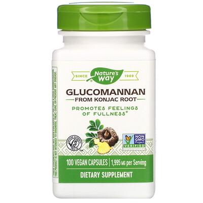 Glucomannan from Konjac Root, 1,995 mg, 100 Vegan Capsules glucomannan maximum strength 2 000 mg 90 capsules