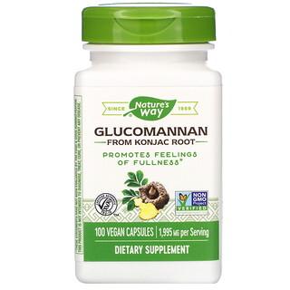 Nature's Way, Glucomannan from Konjac Root, 665 mg, 100 Vegan Capsules