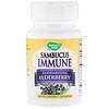 Nature's Way, Sambucus Immune, Elderberry, Standardized, 30 Lozenges