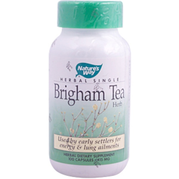 Nature's Way, Brigham Tea Herb, 415 mg, 100 Capsules (Discontinued Item)