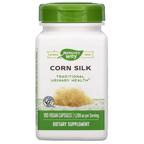 Corn Silk, 1,200 mg, 100 Vegan Capsules