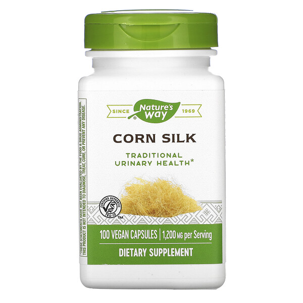 Nature's Way, Corn Silk, 1,200 mg, 100 Vegan Capsules