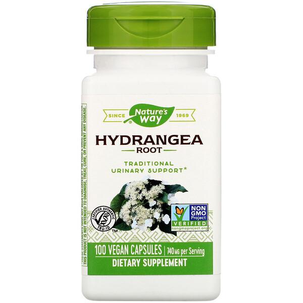 Hydrangea Root, 740 mg, 100 Vegan Capsules