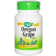 Nature's Way, Oregon Grape Root, 500 mg, 90 Capsules