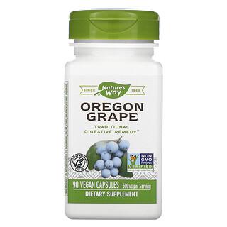 Nature's Way, Oregon Grape, 500 mg, 90 Vegan Capsules