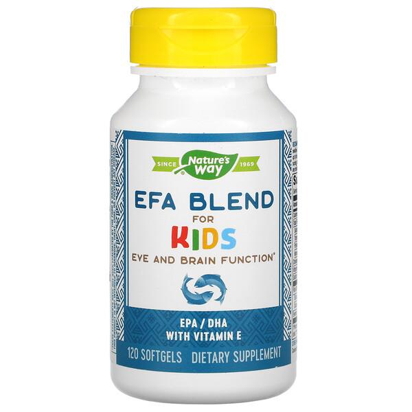 EFA Blend for Children, 120 Softgels