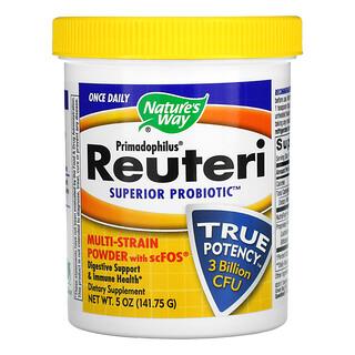 Nature's Way, Primadophilus Reuteri, Superior Probiotic, 3 Billion CFU, 5 oz (141.75 g)