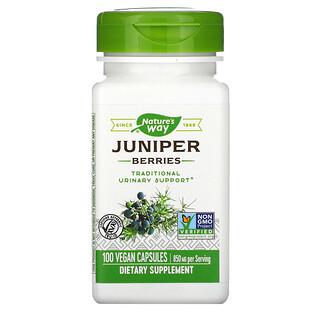 Nature's Way, Juniper Berries, 425 mg, 100 Vegan Capsules