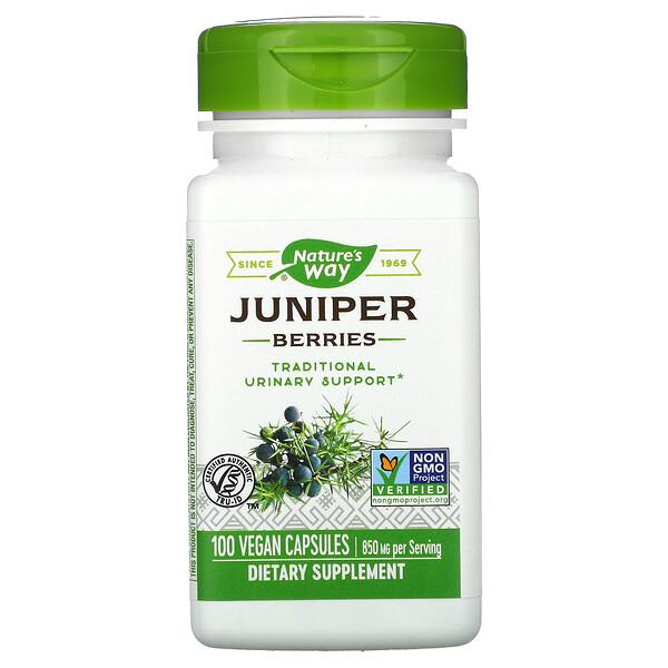 Juniper Berries, 850 mg, 100 Vegan Capsules