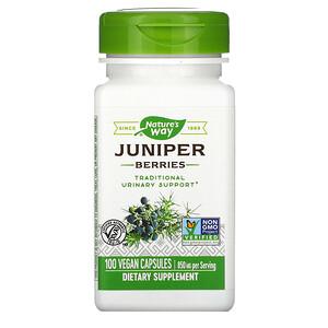Натурес Вэй, Juniper Berries, 850 mg, 100 Vegan Capsules отзывы