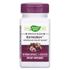 Nature's Way, EstroSoy,更年期舒緩混合物,60 粒素食膠囊