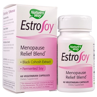 Nature's Way, EstroSoy, Menopause Relief Blend, 60 Veggie Caps