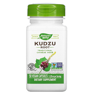Nature's Way, Kudzu Root, 613 mg, 50 Vegan Capsules