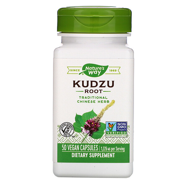 Kudzu Root, 1,226 mg, 50 Vegan Capsules