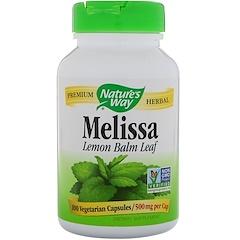 Nature's Way, Melissa, 500 mg, 100 Vegetarian Capsules