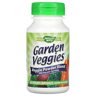 Nature's Way, Garden Veggies, 60 Vegan Capsules
