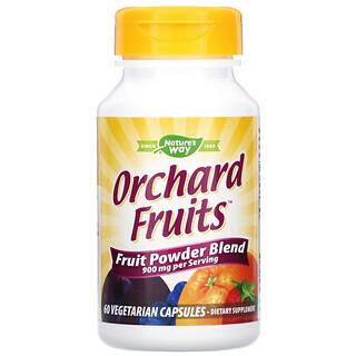 Nature's Way, Orchard Fruits, Fruit Powder Blend, 450 mg, 60 Vegetarian Capsules