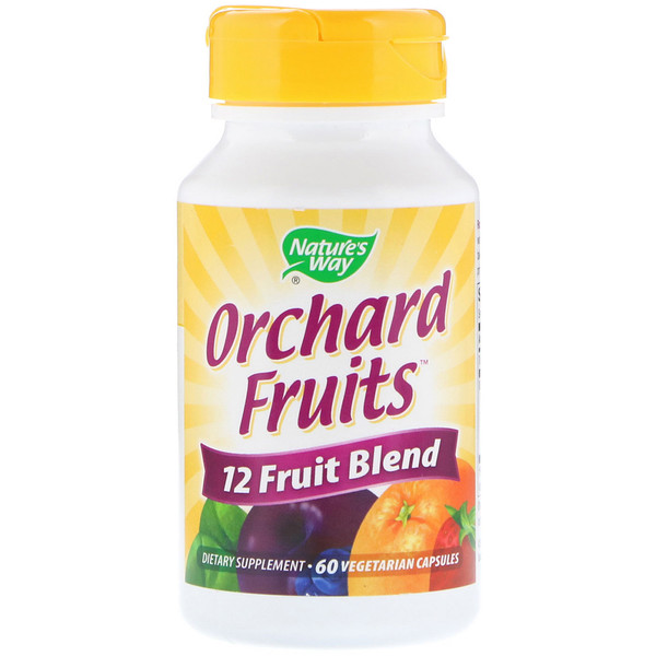 Orchard Fruits, 12 Fruit Blend, 60 Vegetarian Capsules