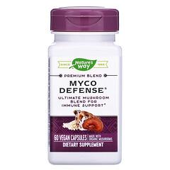 Nature's Way, 優質混合配方系列 Myco Defense® 純素食膠囊,60 粒裝