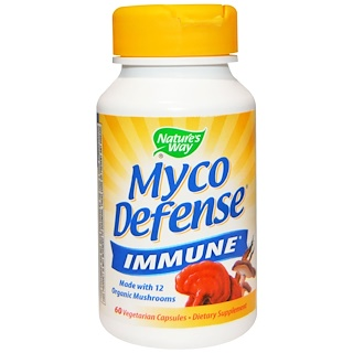 Nature's Way, Myco Defense, Immune, 60 Veggie Caps