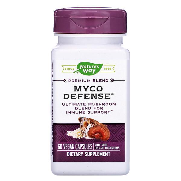 優質混合配方系列 Myco Defense® 純素食膠囊,60 粒裝