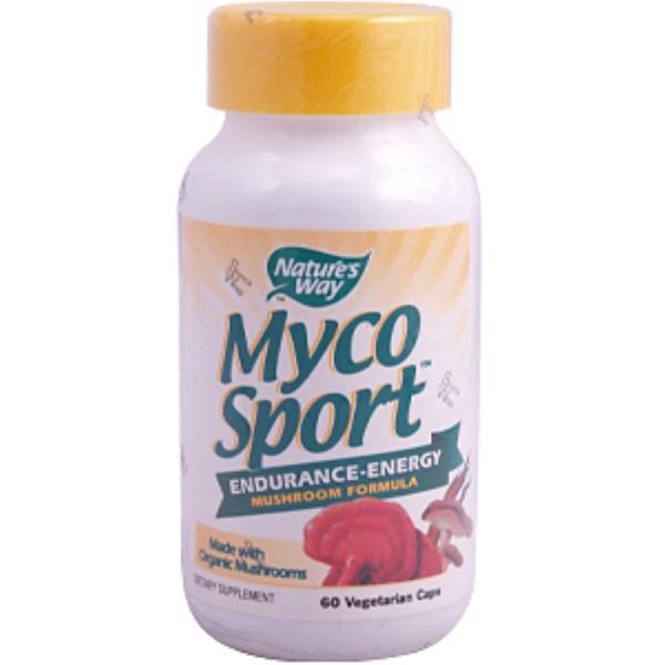 Nature's Way, Myco Sport, 60 Veggie Caps (Discontinued Item)