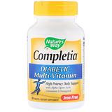 Отзывы о Nature's Way, Completia, Диабетические витамины, без железа, 90 таблеток