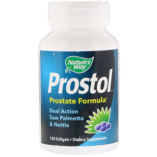 Nature's Way, Prostol, Prostate Formula, 120 Softgels