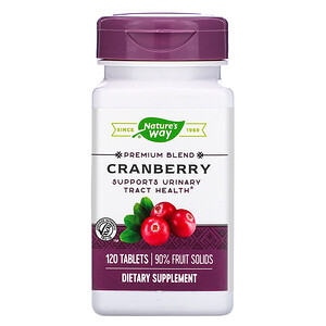 Натурес Вэй, Cranberry, 120 Tablets отзывы