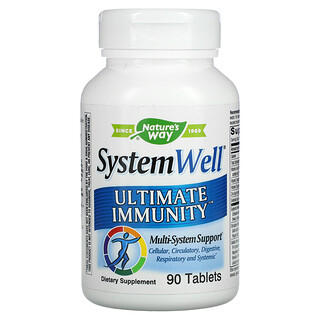 Nature's Way, System Well, Ultimate Immunity, 90 Tablets