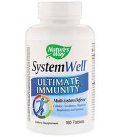 System Well, Средство для укрепления иммунитета, 180 таблеток - фото