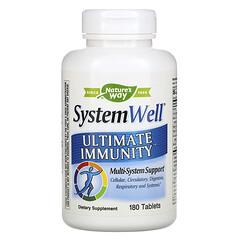 Nature's Way, SystemWell 高級免疫支持營養片,180 片裝