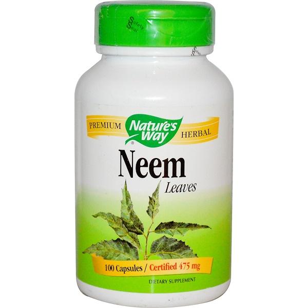 Nature's Way, 멀구슬나무, 잎, 100 캡슐