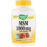 Отзывы о Nature's Way, MSM, Pure OptiMSM, 1000 мг, 200 таблеток