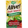 Nature's Way, Alive!, Fruit Source, Vitamin C, 120 Vegetarian Capsules